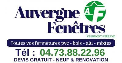 Auvergne Fenêtres - Volets roulants - Clermont-Ferrand