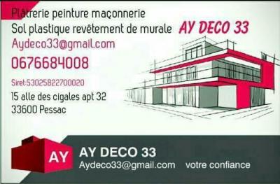Aydeco33 - Décorateur - Pessac