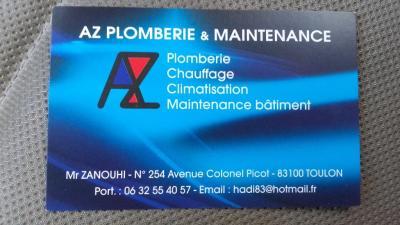 AZ Plomberie et Maintenance - Dépannage de chauffage - Toulon