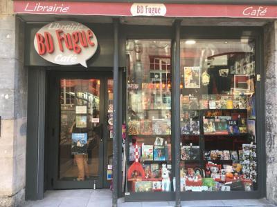 BD Fugue Café - Librairie - Besançon
