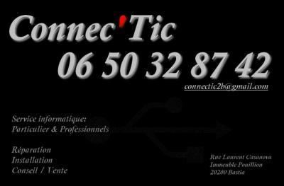 Connec'Tic - Dépannage informatique - Bastia