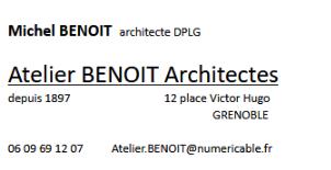 Benoit Michel - Architecte - Grenoble