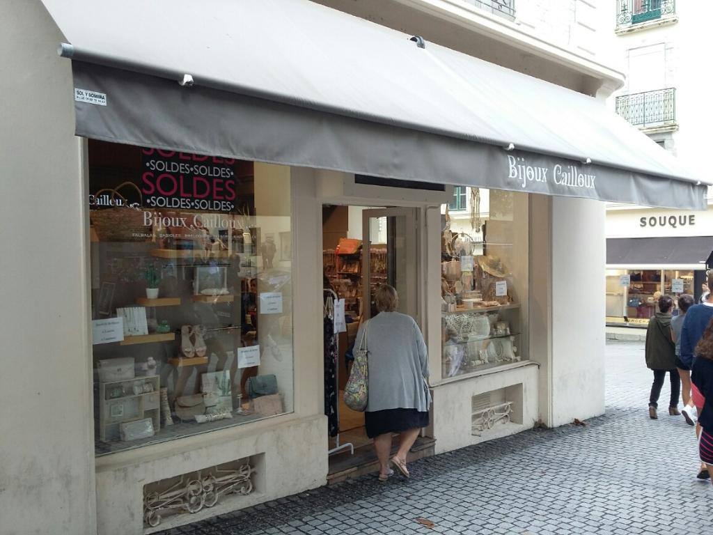 bijoux cailloux biarritz sac argente