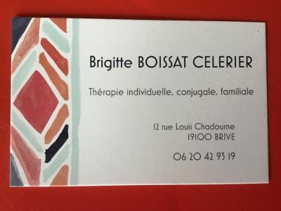 Brigitte Boissat-Célérier - Conseil conjugal et familial - Brive-la-Gaillarde