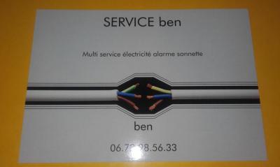 Ben - Entreprise d'électricité générale - Senlis