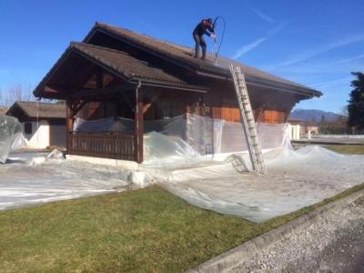 Boulet Gery - Entreprise de démoussage et de traitement des toitures - Annecy