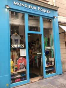 Boutique Monsieur Poulet - Vêtements homme - Paris