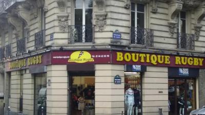 Boutique Rugby - Fabrication de matériel de sports et loisirs - Paris