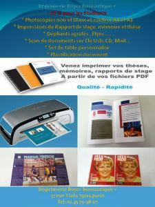 Boyer Bureautique Plus - Photocopie, reprographie et impression numérique - Paris