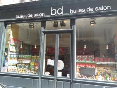 Bulles de Salon - Librairie - Paris