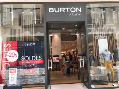 Burton Of London - Vêtements femme - Angers