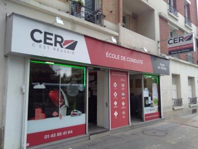 C.E.R Porte de Choisy Centre d'Education Route - Auto-école - Paris