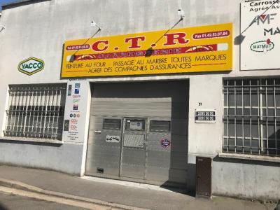 C.T.R Carrosserie et Toutes Réparations - Carrosserie et peinture automobile - Malakoff