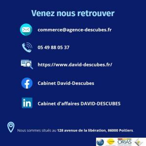 Cabinet DAVID-DESCUBES - Transactions pour le commerce et l'industrie - Poitiers