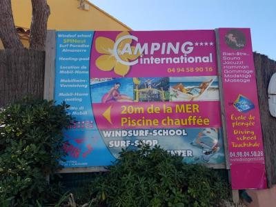 Camping International La Reserve - Location de caravanes et de mobile homes - Hyères