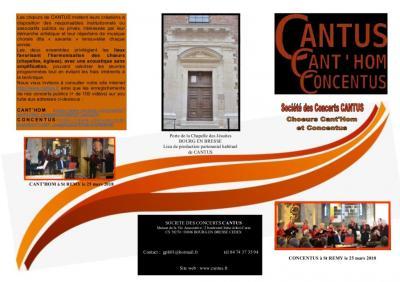 Cantus - Entrepreneur et producteur de spectacles - Bourg-en-Bresse