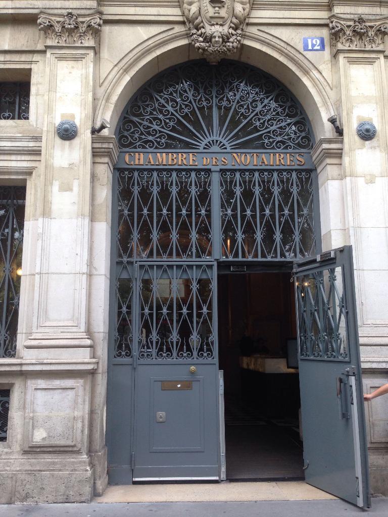 Chambre des Notaires de Paris Paris - Notaire (adresse)