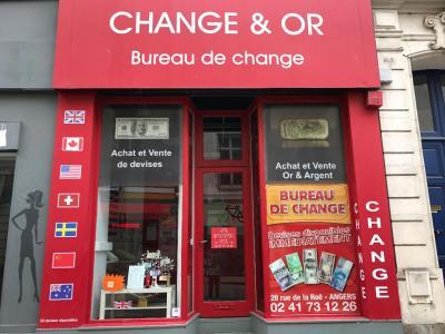 Change et or - Bureau de change - Angers