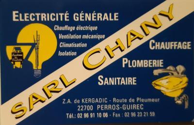 Chany Electricité SARL - Vente et installation de salles de bain - Perros-Guirec