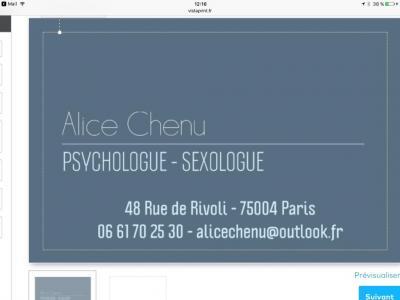 Alice Chenu - Psychologue - Paris