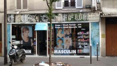 Club Coiffure - Coiffeur - Paris