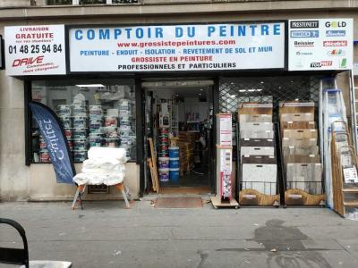 Comptoir du Peintre Porte saint Cloud vo - Peinture et vernis - Boulogne-Billancourt