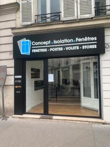 Concept Isolation Fenêtre - Menuiserie PVC - Paris