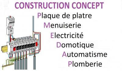 Construction Concept - Entreprise d'électricité générale - Elbeuf
