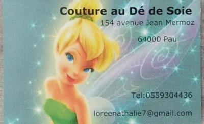 Couture Au dé de soie - Couture et retouches - Pau