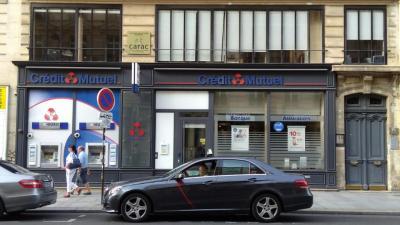 Crédit Mutuel - Banque - Paris