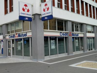 Credit Mutuel - Banque - Montigny-le-Bretonneux