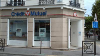 Crédit Mutuel - Banque - Vincennes