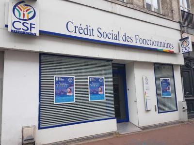 C.S.F (Crédit Social des Fonctionnaires) - Crédit immobilier - Lille