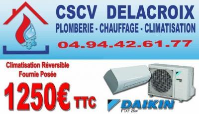 CSCV Delacroix - Vente et installation de climatisation - Toulon