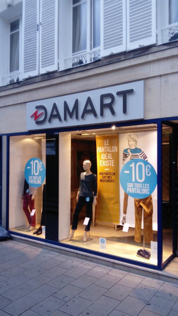 great deals reliable quality best sell Damart, 109 r Vesle, 51100 Reims - Magasins de vêtement ...