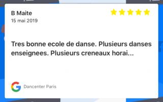 Dancenter Paris
