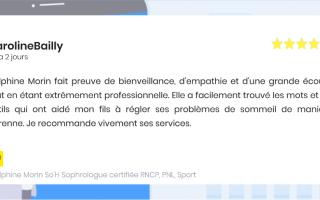 Delphine Morin So'H Sophrologue certifiée RNCP, PNL, Sport
