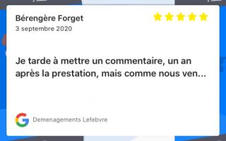 Demenagements Lefebvre