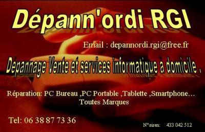 Dépann'Ordi RGI - Dépannage informatique - Saint-Gaudens