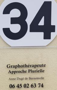 Duge De Bernonville Anne - Graphologue - Niort