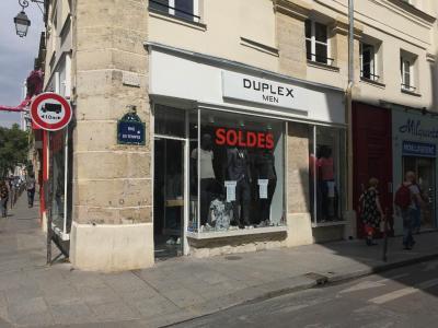 Duplex - Vêtements homme - Paris