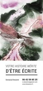 Emmanuel Desestré - Écrivain public - Nice