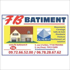 Entreprise F.B Bâtiment Provins 77 - Entreprise de bâtiment - Provins