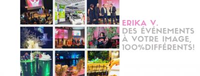Erika V. Agence événementielle créative - Designer - Montbrison