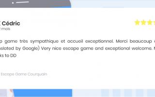 Escape Game Courquain