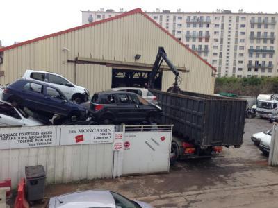 Etablissements Moncassin - Dépannage, remorquage d'automobiles - Bagneux