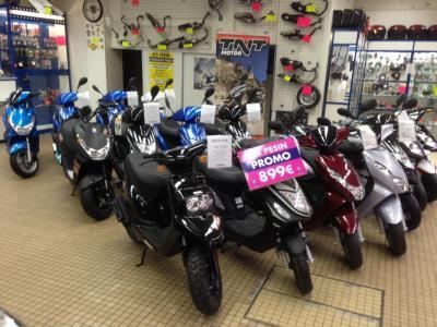 ETS PESIN Scooters - Vente et réparation de motos et scooters - Hénin-Beaumont