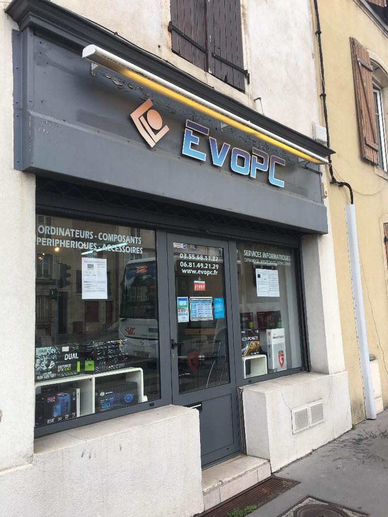EvoPC Informatique Nancy - Dépannage informatique (adresse)