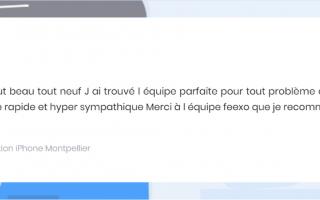 Feexo - Réparation iPhone Montpellier