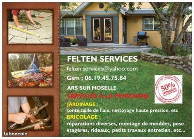 Felten Services - Paysagiste - Ars-sur-Moselle